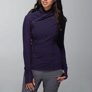 Lululemon Bhakti Yoga Jacket in Black Grape